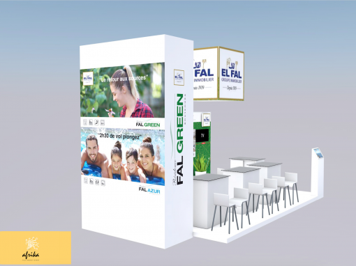 Stand El fal immobilier