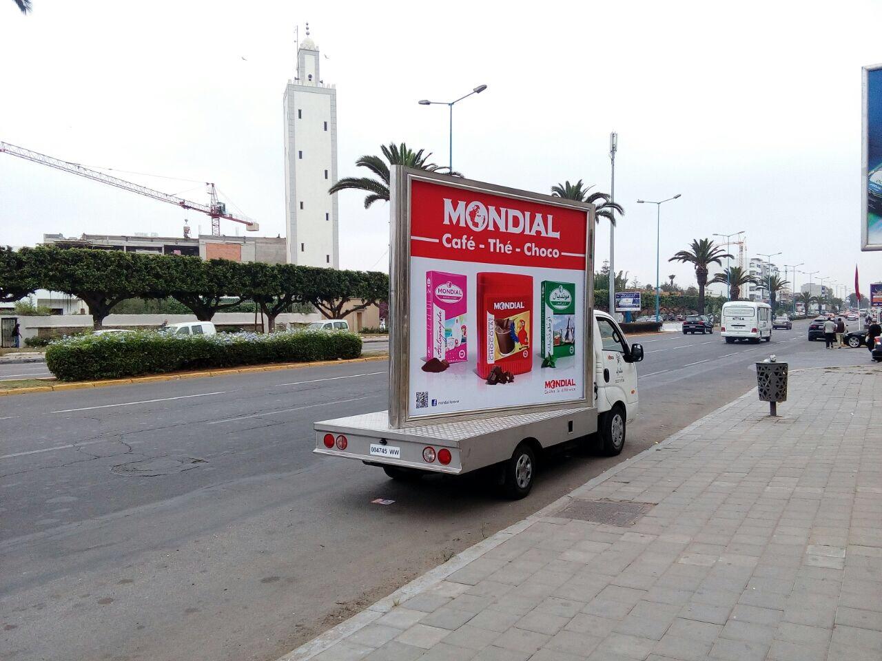 Panneau Marketing Mondial
