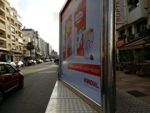 Panneau Marketing Mondial B